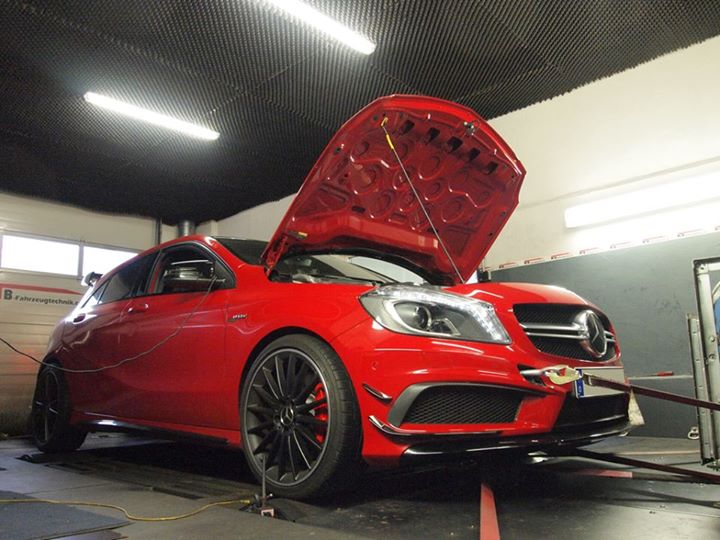A45 AMG Chiptuning Softwareoptimierung