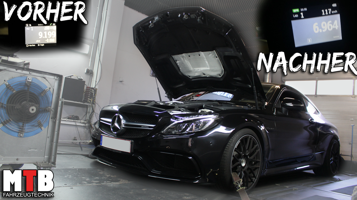 Stage 2 C63 AMG W205 475PS Basis auf 620PS / 850Nm